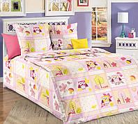 """Комплект постельного белья """"Дорис розовый"""", бязь ГОСТ, фото 1"""
