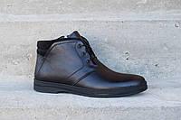 В цю зиму вас зігріють чоловічі черевики VadRus! Натуральна шкіра -  гарантія якості даної моделі 9f16e85610b80