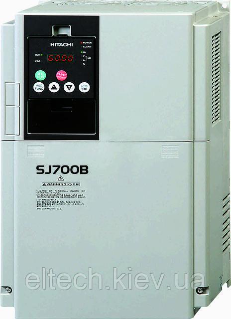Преобразователь частоты Hitachi SJ700B-220HFF, 22кВт, 380В