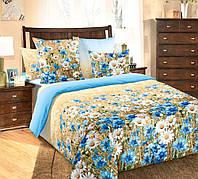 Комплект постельного белья Комфорт Текстиль (Бязь, ГОСТ) ВАСИЛЬКИ евро