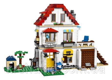 """Конструктор Lepin 33077 """"Элитный частный дом"""" (аналог Lego Майнкрафт, Minecraft), 738 деталей"""