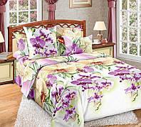 Комплект постельного белья Комфорт Текстиль (Бязь, ГОСТ) МАЛЬДИВЫ (зеленые) евро