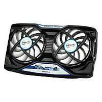 Кулер для видеокарты Arctic Cooling Accelero Twin Turbo 2, 2x92 мм (PWM) (DCACO-V540000-BL), вентилятор на видеокарту