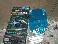 Защитная пленка для автомобилей зеркал задненго вида Optima Autoclear Car Mirror 95*95mm (2шт)