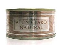 Тунец в собственном соку Atun Claro Natural Hacendado, 80 г (Испания)