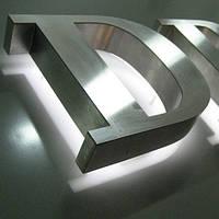 Объемные буквы из металла с подсветкой - Изготовление - Монтаж - Гарантия | Светящиеся рекламные буквы - Киев