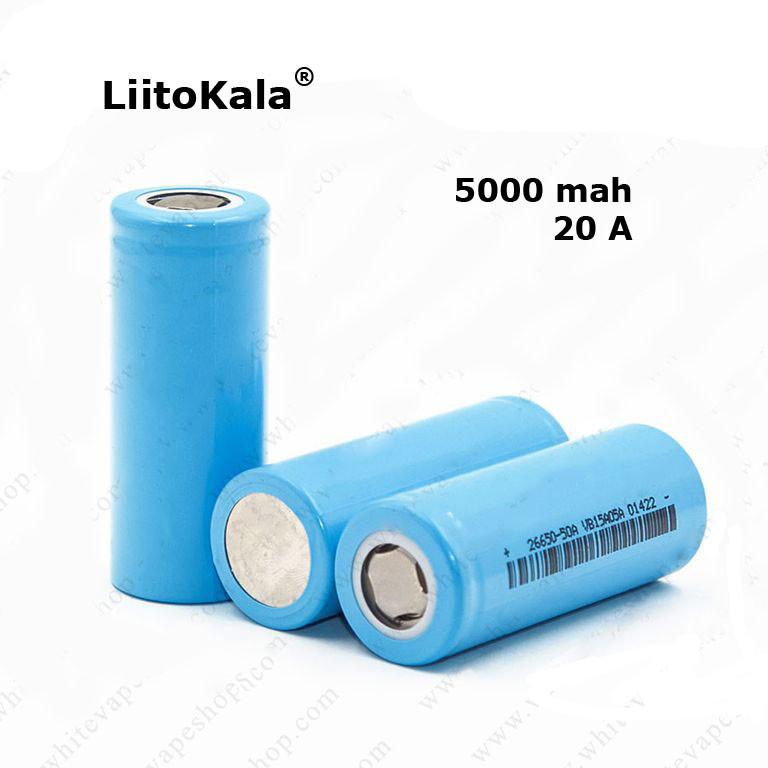 Аккумулятор LiitoKala 26650 5000mah 20А Original