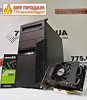 Игровой компьютер M81, Intel (4 ядра) 3.4GHz, RAM 12ГБ, SSD 120ГБ + HDD 500ГБ, GeForce GTX 1060 6ГБ
