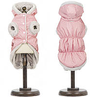 Жилет для собак Pet Fashion БОНЖУР XS-2,Длина спины: 26-28см,обхват груди: 32-39см(розовый и фиолет)