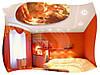 Фотопечать на натяжных потолках в спальне, фото 7