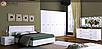 Кровать 160 мягкая спинка (с каркасом) Белла Миро-Марк, фото 2