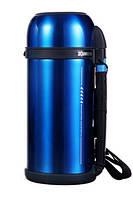 Термос ZOJIRUSHI SF-CС15AН 1.5 л (складная ручка+ремешок) ц:синий