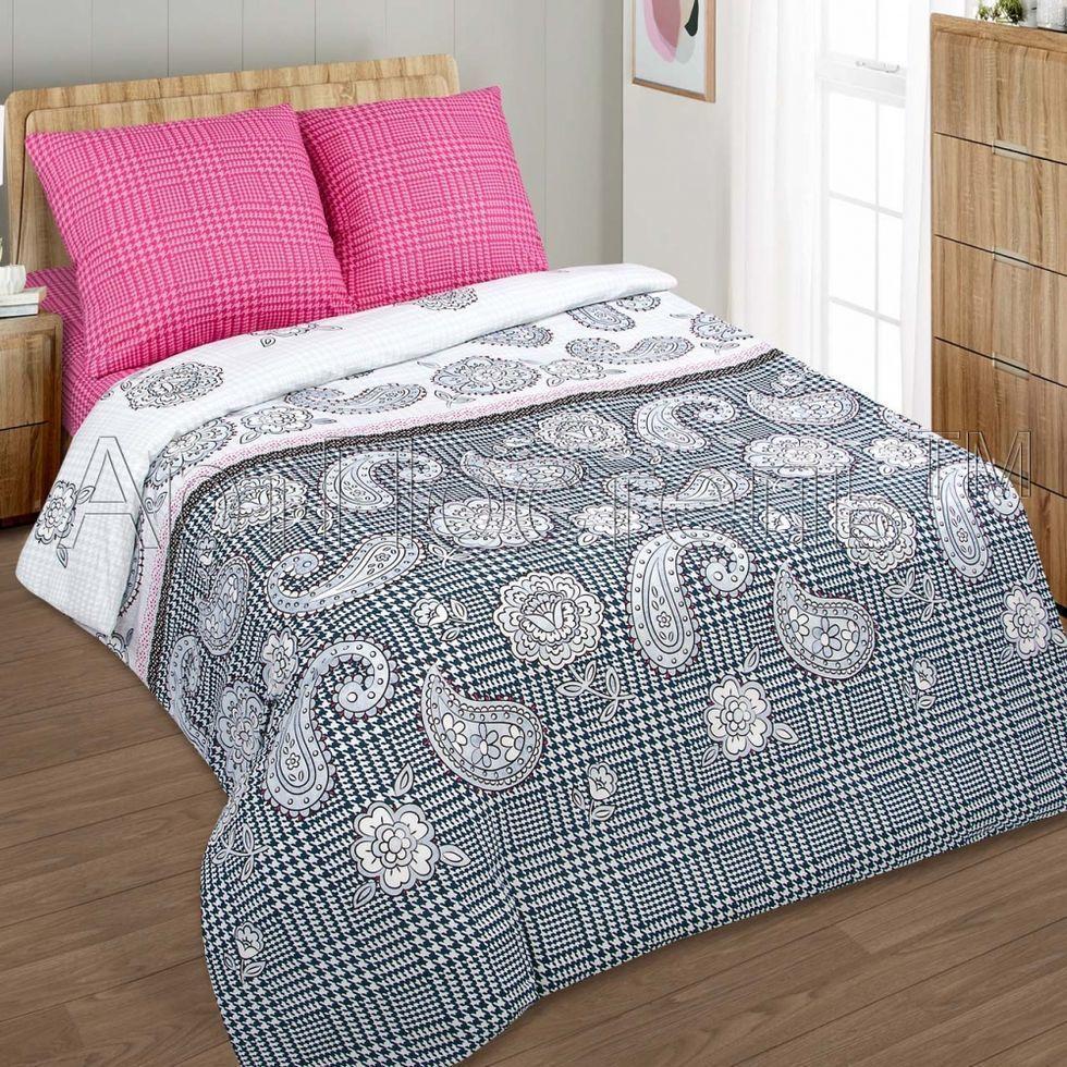 Комплект постельного белья Komfort из поплина РЕНАТА семейнвй