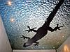 Фотопечать на натяжных потолках в ванной, фото 3
