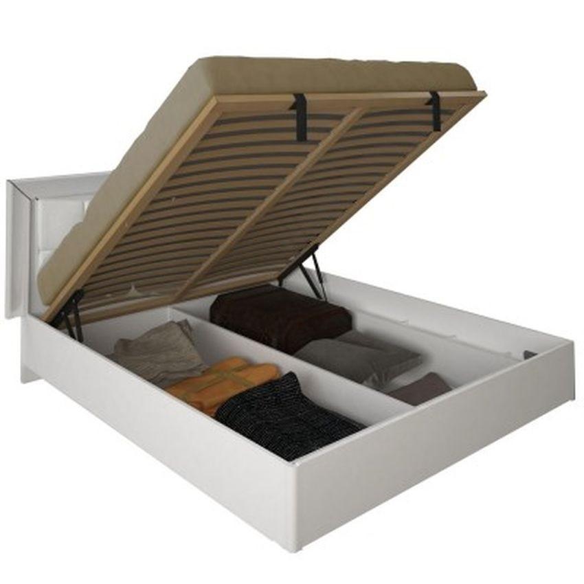 Кровать 160 мягкая спинка (с каркасом) Белла Миро-Марк