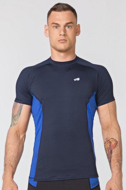 Компресійна спортивна футболка Radical Fury Duo SS, чоловічий рашгард з коротким рукавом