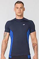 Компресійна спортивна футболка Radical Fury Duo SS, чоловічий рашгард з коротким рукавом, фото 1