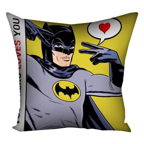 Подушка с принтом Bat Man (3P_LP234)