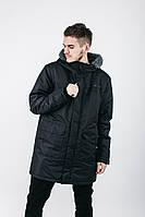Парка Urban Planet S2 BLK чоловіча куртка зимова чорна M L XL XXL XXXL