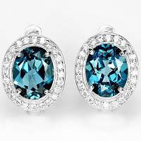 Ювелирные изделия с природными драгоценными камнями