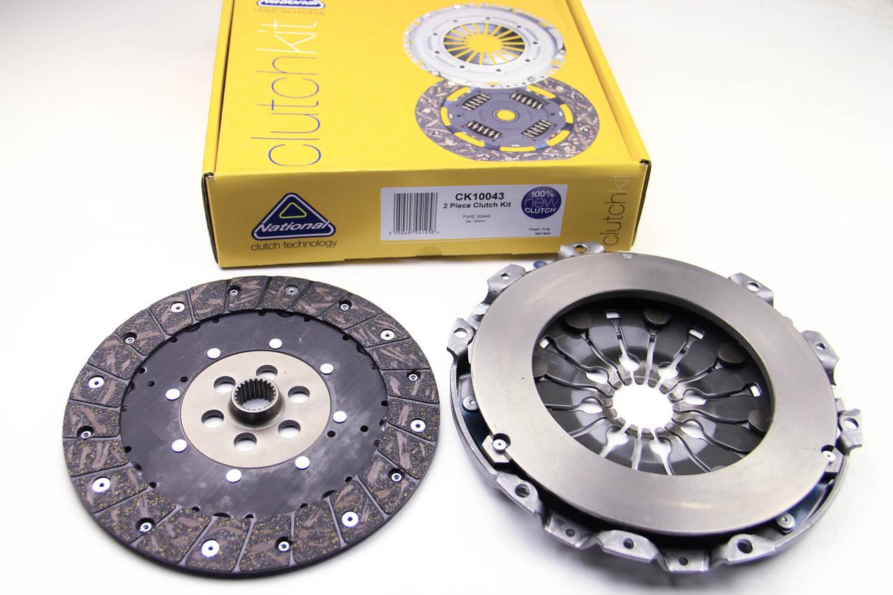 Комплект сцепления Ford Mondeo IV 2.0TDCi  (240mm)(к маховику LUK)