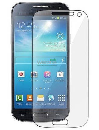 Защитное стекло Samsung i9190 Galaxy S4 Mini (0.3 мм, 2.5D, с олеофобным покрытием), захисне скло, фото 2