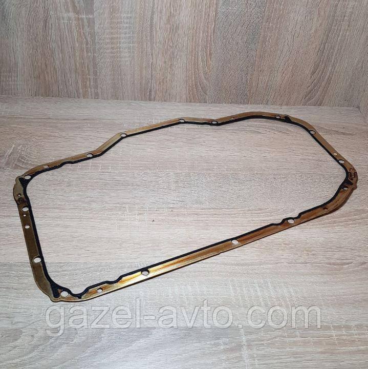 Прокладка поддона ГАЗ 40624  дв. (метал резина ) ЕВРО 3 (пр-во ЗМЗ)