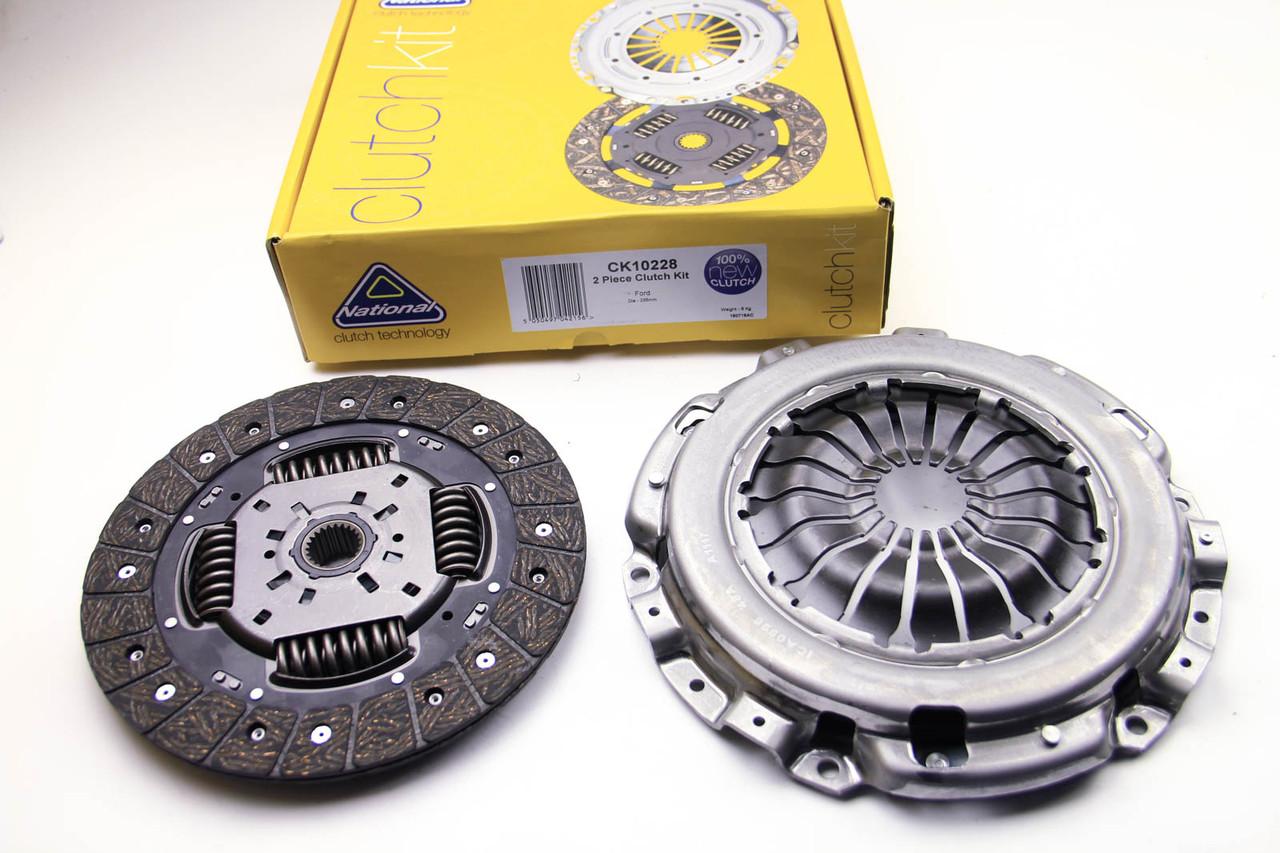 Комплект сцепления Ford Connect 1.8TDCi 2006- (110PS)(235mm) заменен на CK9781