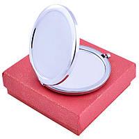 Зеркальце в подарочной упаковке (Чистое под гравировку) №538-7