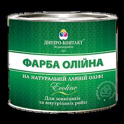 Фарба масляна для металу, дерева, бетону МА-15 ТМ «ДНІПРО-КОНТАКТ» 2,5 кг