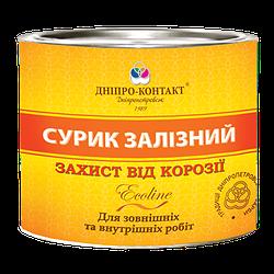 Фарба масляна сурик залізний МА-15 захист від корозії ТМ «ДНІПРО-КОНТАКТ» 2,5 кг
