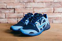 Кроссовки CrossSAV 48 (Nike) (весна-осень, мужские, джинс, синий)