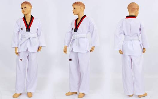 Добок кимоно для тхэквондо Mooto 3 (рост 130) CO-5569 (OF), фото 2