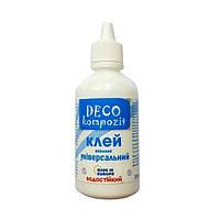 Клей универсальный DECO Kompozit (прозрачный при высыхании) 100 мл