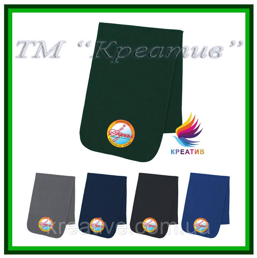 Зимние шарфики флисовые с вашим логотипом (под заказ от 100 шт)