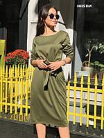 Платье женское трикотажное 0085 ВМ