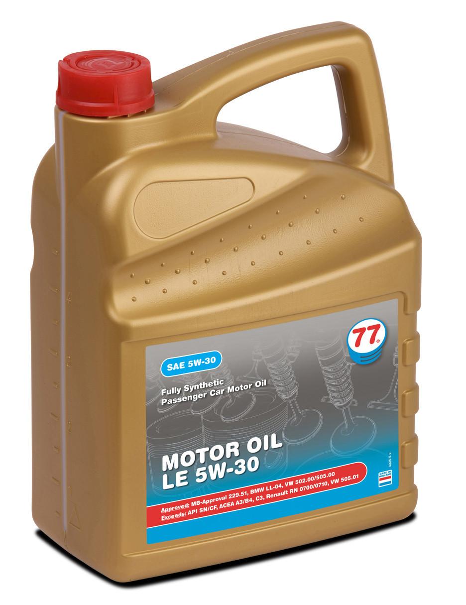 MOTOR OIL LE 5W-30 (кан. 5 л)