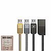 USB Data кабель Remax Linyo RC-088m MicroUSB 1m, фото 4