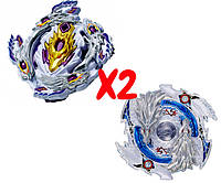 Набор волчков Beyblade Бейблейд Bloody Longinus L4 B-110 Кровавый Луинор VS Luinor Lost Longinus B-66 Луинор Лост Лонгинус с пускателями