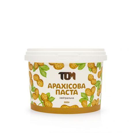 Арахисовая паста нейтральная 300 грамм (без добавок)