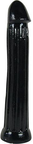 Фаллоимитатор All Black 31 см, черный, фото 2
