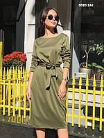 Платье женское трикотажное батал 0085 ВМ