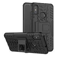 """Чехол Xiaomi Mi 8 6.21"""" противоударный бампер черный"""