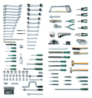 Набір інструментів в візку 136 пред. 1128-942-AF HEYCO Німеччина