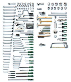 Набір інструментів в візку 166 пред. 1128-943-М HEYCO Німеччина