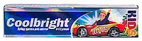 Зубная паста для детей Coolbright Kids Boys для мальчиков от 3-12 лет (80мл.)