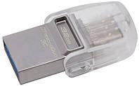 USB флешка Kingston DataTraveler DT microDuo 3C 32 GB USB 3.1 Type-C (DTDUO3C/32GB), фото 1