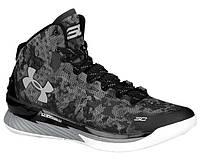 """Баскетбольные кроссовки Under Armour Curry 1 """"Black"""" - """"Черные""""  (Копия ААА+)"""