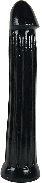 Фаллоимитатор All Black 31 см, черный