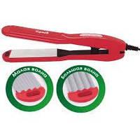 Щипцы для волос +гофре VHS-100CP_red